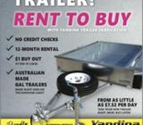 Need A New Trailer ? Rent to own With Yandina trailers