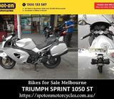 TRIUMPH SPRINT 1050 ST - Motorcycle Dealers Melbourne