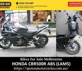 HONDA CBR500R ABS (LAMS) - Bikes for Sale Melbourne