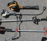 3 x Brushcutters/Line Trimmers 1 Leaf Blower *BULK LOT*