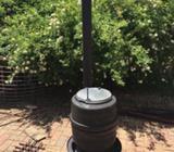 Outdoor Pot Belly Wood Heater