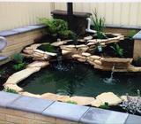 Onsite Fiberglass Pond Relining / Restoring