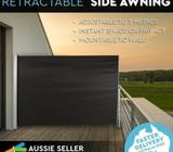 1.8X3M Retractable Side Awning Shade Privacy Screen Panel