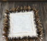 Wanted: Balinese Boho Feather Linen and Shell Cushion Covers