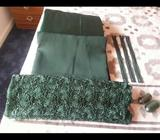 Quality Material - colour Emerald Green