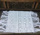 Wanted: Macrame Boho Cushion Cover -Euro Size White
