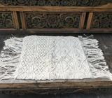Wanted: Boho Macrame Cushion Cover-Euro Size Beige
