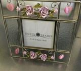 Pretty Rose and Bead Photo Frame