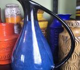BMP Blue Mountain Pottery Ceramic Pottery Jug Vase Pitcher