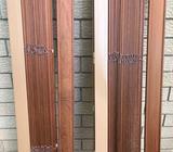 Cedar venetian blinds