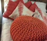 Footstools & cushions