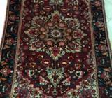 Persian hand knotted wool rug