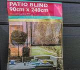 Tribeca PVC Patio Blinds