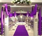 PURPLE Special Event, Wedding Carpet Runner