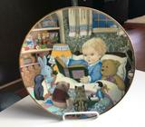 Storytime Limited Edition Plate - For Collectors or Baby Nursery