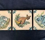 Ceramic Tiles (Three only)