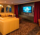 Velvet Theatre room curtains Perth areas