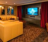 THEATRE ROOM CURTAINS CUSTOM MADE ALL AREAS