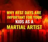 Why rest days are important for your kids as a martial artist?