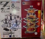 Beautiful Swiss Zurich Saucepans Brand new in box