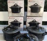 Round casserole dish with lid - Small - 300ml *8