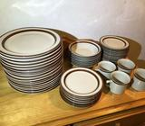 Assorted Dinner Set — plates, bowls, cups