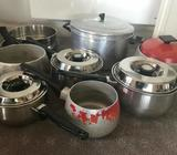 Various Used Pots/Pans as Shown (ALL)