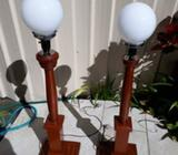 BALL LIGHTS TIMBER 2 OFF 97cm