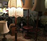 vintage standard lamps, many to choose from