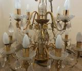 Luxury Chandelier with phillips lights all in working order
