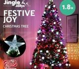 Jingle Jollys 1.2/1.5/1.8/2.1M LED Christmas Tree Xmas