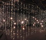 6 m x 3m curtain fairy lights