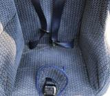 Front facing child seat with 5 point harness