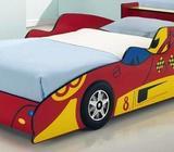 Red Racing Car Bed Kids Race