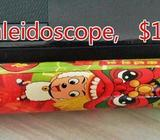 Kaleidoscope and 3 in 1 sand timer