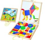BRAND NEW EDUCATIONAL TOY - Wooden Magnetic Activity Carry Case