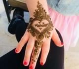 Birthday henna