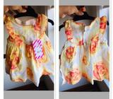 Girl dress size 0-3m new with tag $50 pumpkin patch
