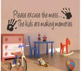 Making memories wall sticker doesn't remove paint