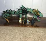 Lloyd's lego ninjago green dragon