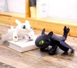 Pair of How to Train Your Dragon Plush Toys Toothless Night Fury 45cm