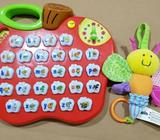 Baby toys - Bruin sensory toy and alphabet educational toy