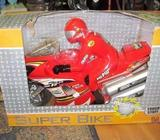 Large Motorcycle, Friction Powered, Brand New