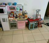 Kitchen and supermarket