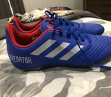 Kids football boots (used twice) size 5