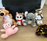 Assorted soft toys