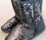 Children sparkling boot