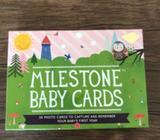 The original baby milestone cards