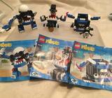 Lego mixers busts 41555, muffs 41554, tiketz 41556