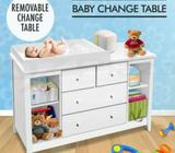 Change Table Baby Chest of Drawer Dresser Cabinet Changer